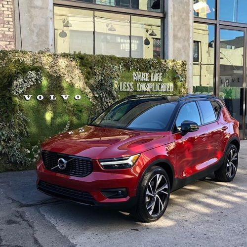2020 Xc40 Compact Crossover Suv Volvo Car Usa